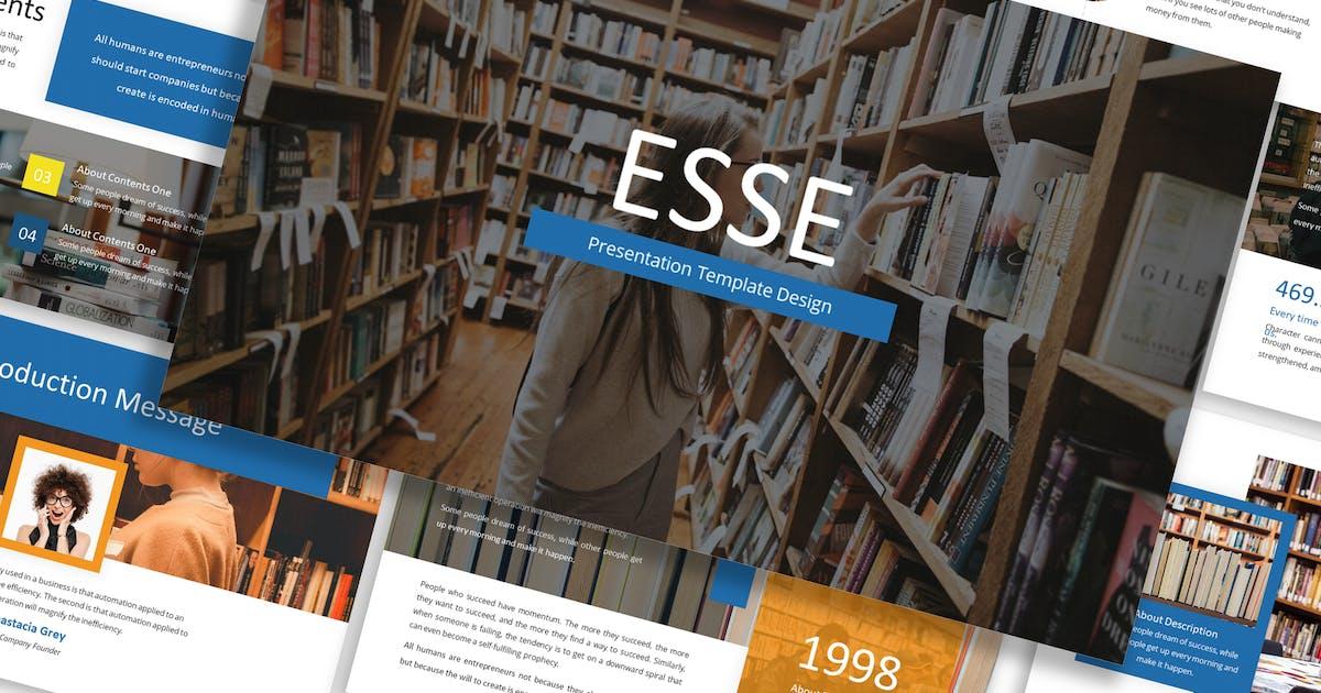 Download Esse - Business Template Prensentation by Blesstudio