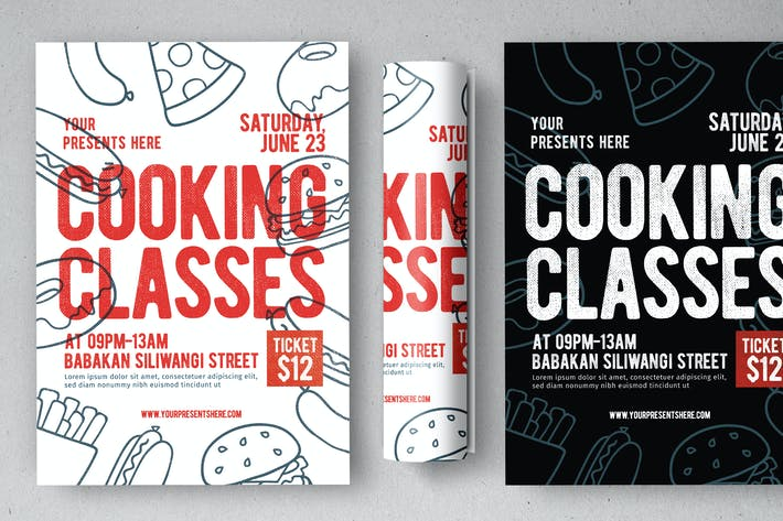 Thumbnail for Cooking Class Flyer