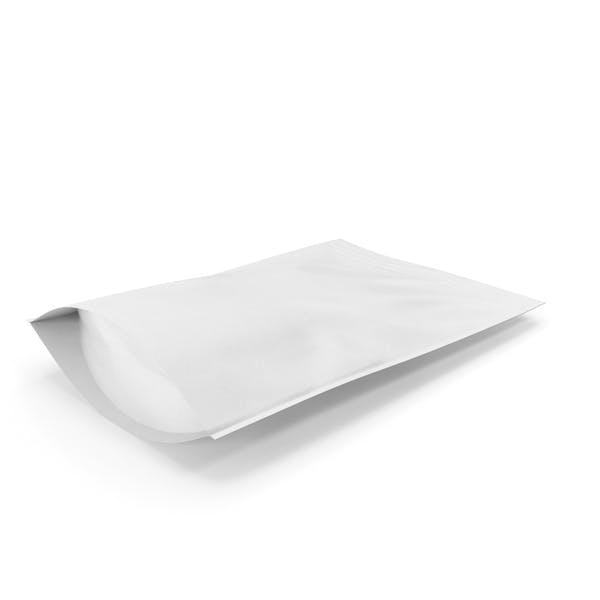 Zipper White Paper Bag 400g