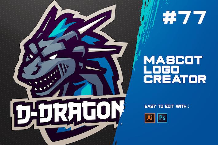 Thumbnail for D-DRAGON - E-Sports Logo Creator