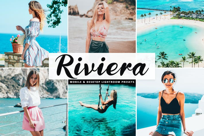Thumbnail for Riviera Mobile & Desktop Lightroom Presets