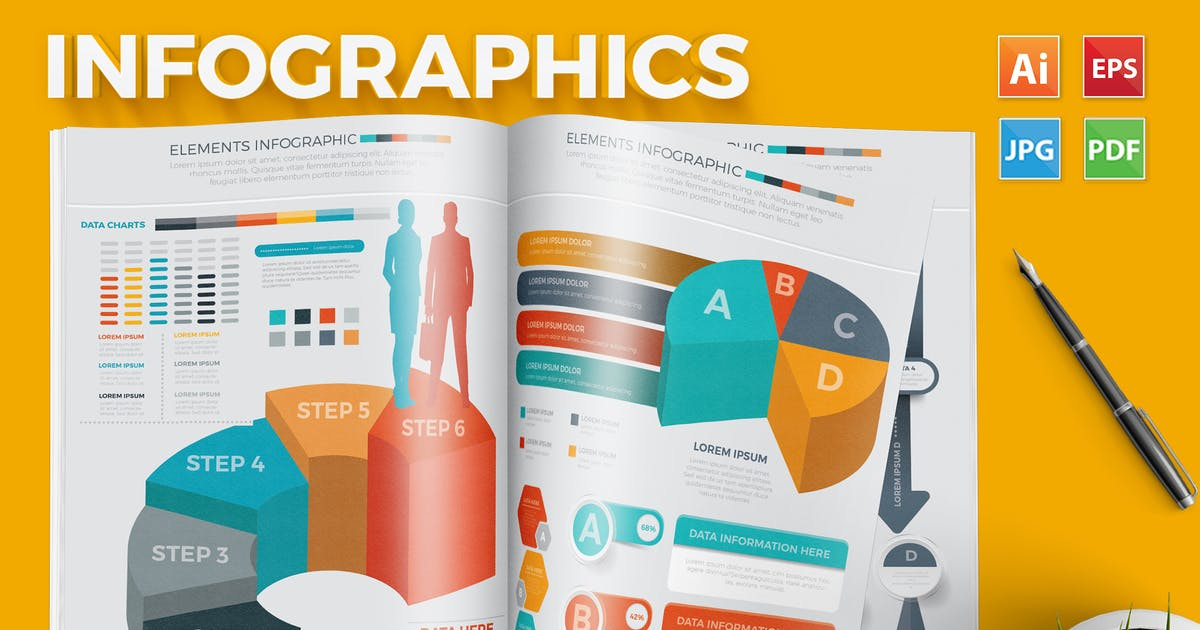 Download Infographic Set by mamanamsai