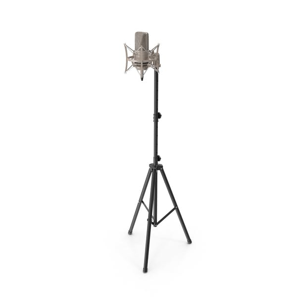 Thumbnail for Condenser Microphone with Stand