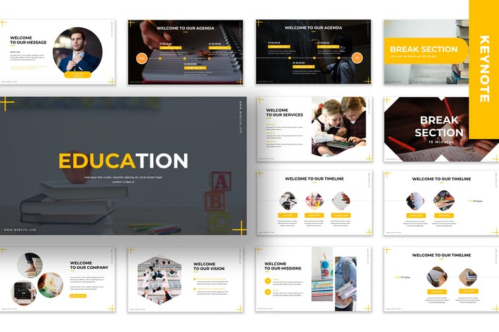 Thumbnail for Education - Business Keynote Template