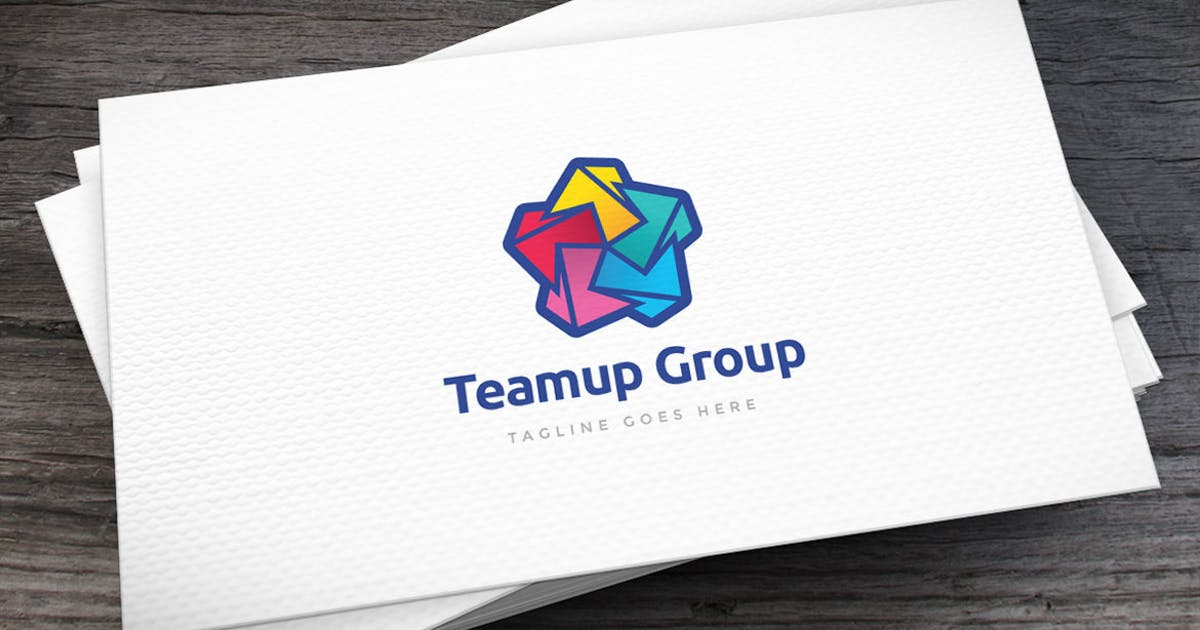 Download Teamup Logo Template by empativo