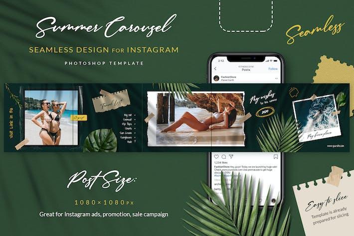 Thumbnail for Summer Moodboard Instagram Carousel