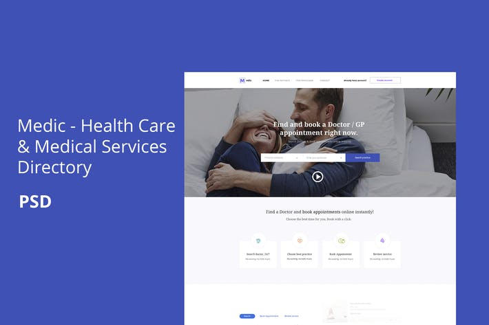 Thumbnail for Medic - Health Care & Medical Services Directory
