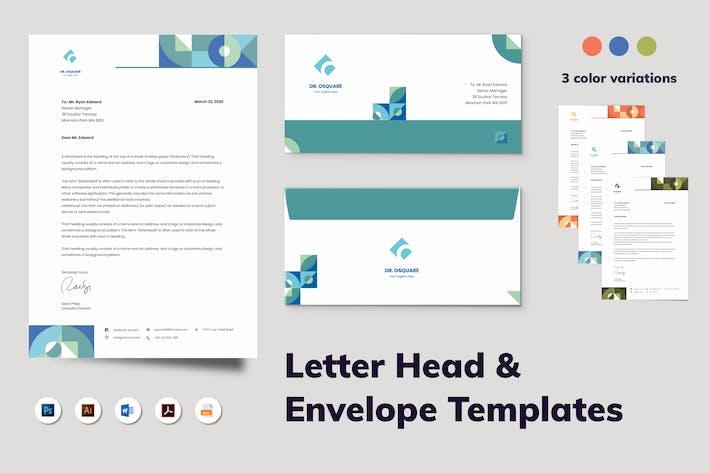 Thumbnail for Letterhead Envelope Stationery