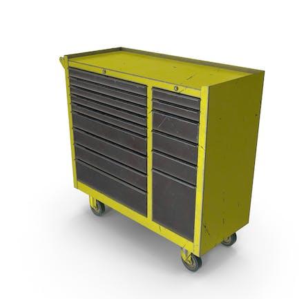 Closed Tool Box Yellow