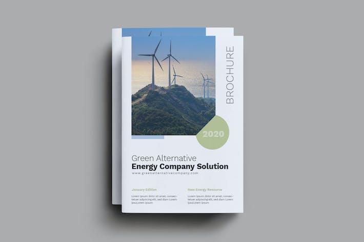 Thumbnail for Green Alternative Energy Brochure