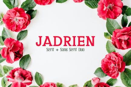 Jadrien Duo Font Pack