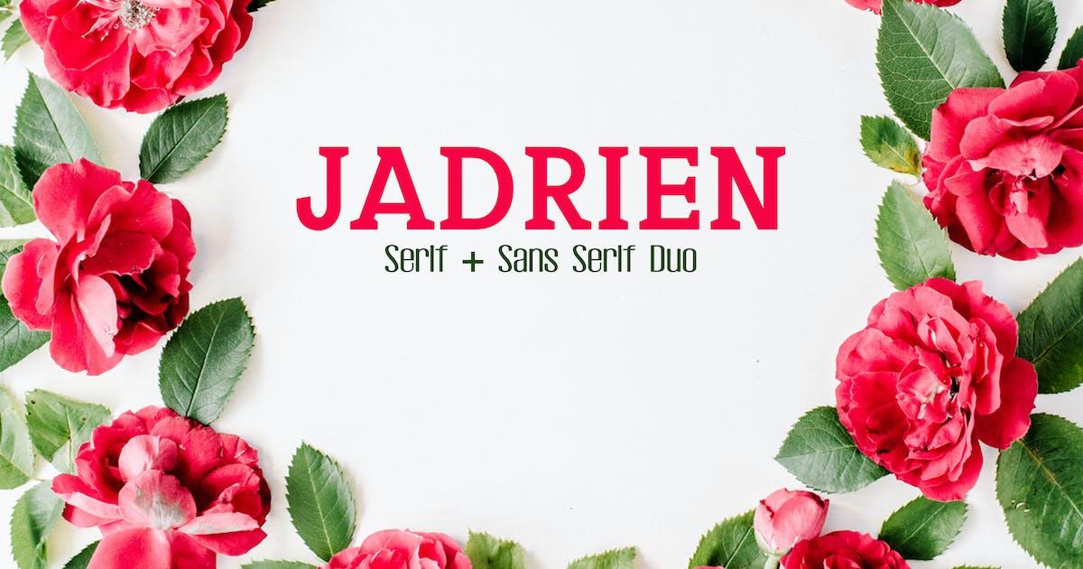 Jadrien Duo Font Pack by creativetacos