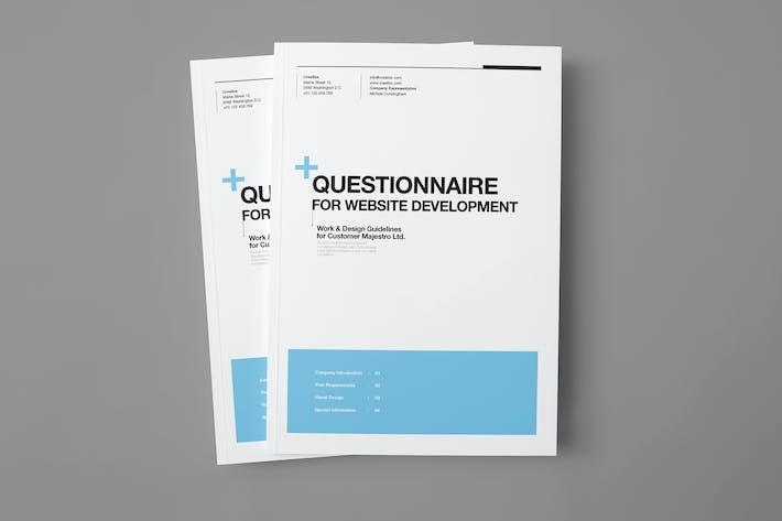 Thumbnail for Questionnaire Proposal