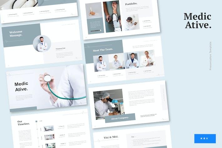 Thumbnail for Medicative - Medical Keynote Template
