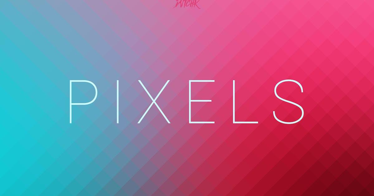 Download Pixels | Pixelated Backgrounds | Vol. 02 by devotchkah