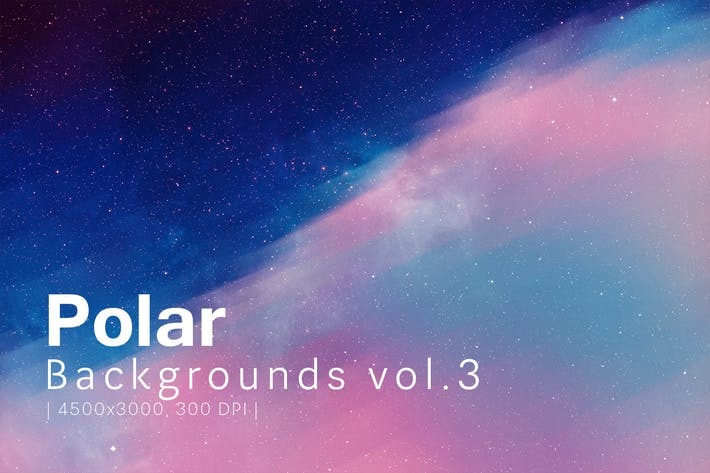 Thumbnail for Polar Backgrounds vol.3