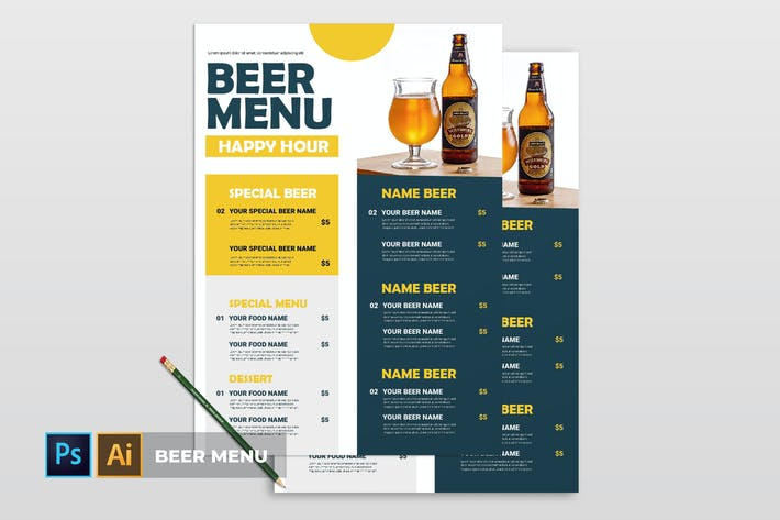 Thumbnail for Beer Menu | Flyer