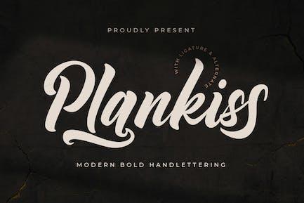 Plankiss Logotype Police