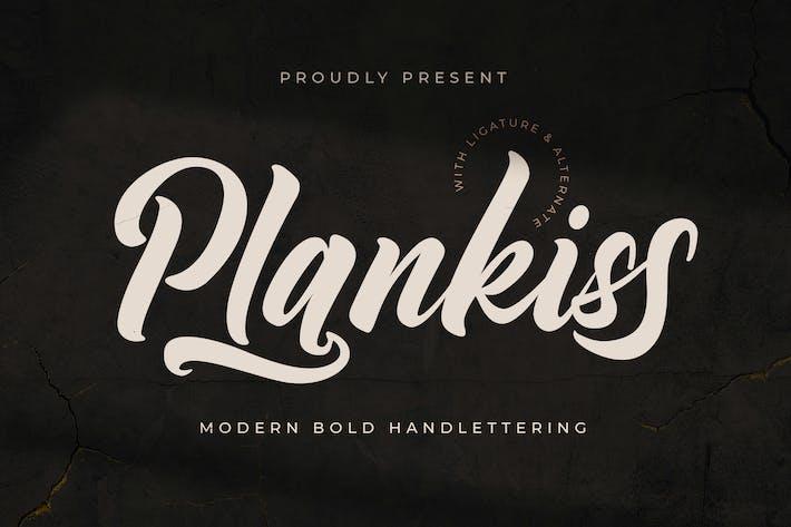 Fuente del logotipo de Plankiss