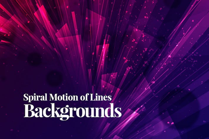 Thumbnail for Spiral Motion of Lines Backgrounds