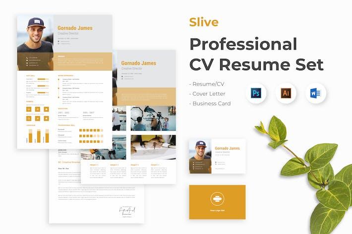 Thumbnail for Creative CV Resume