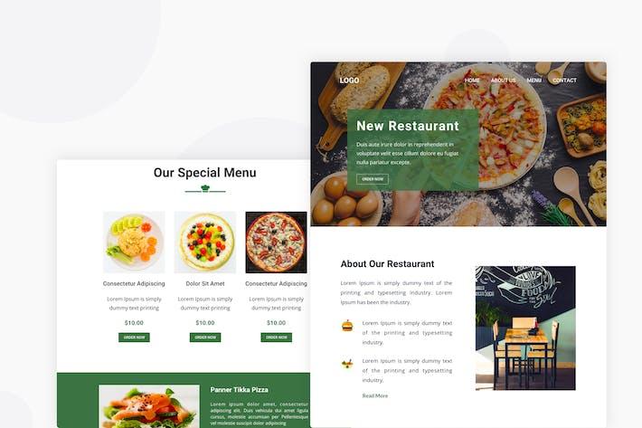 Thumbnail for Restaurant - Email Newsletter