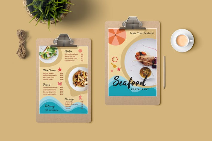 Thumbnail for Restaurant Menu Price List