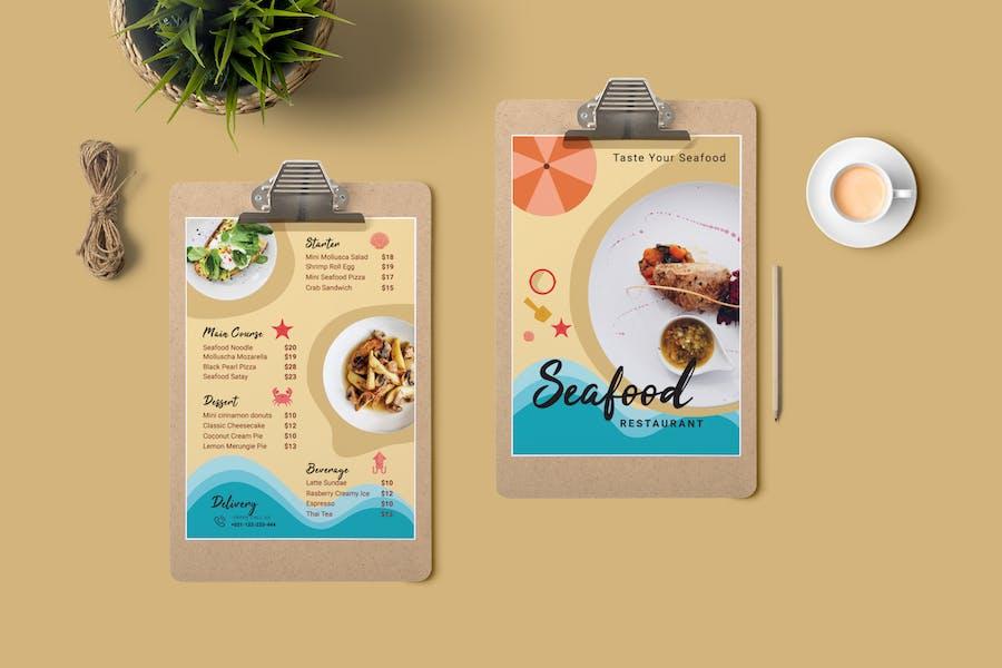 Restaurant Menu Price List