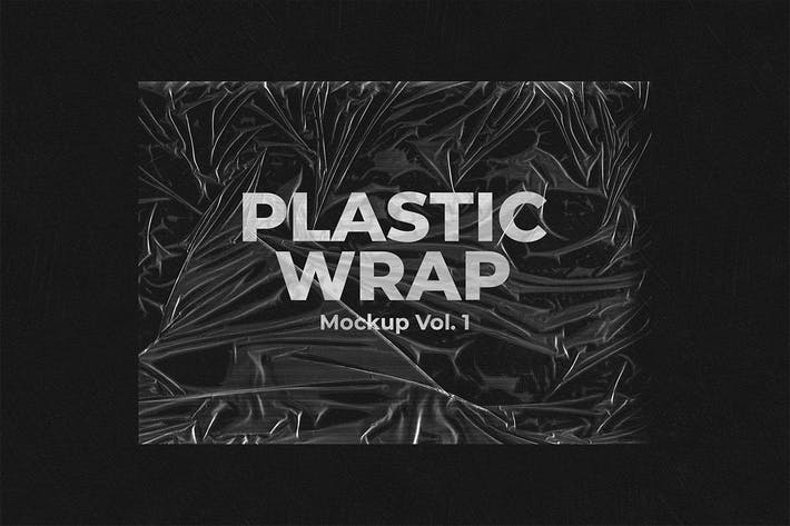 Thumbnail for Plastic Wrap Mockup Vol.1