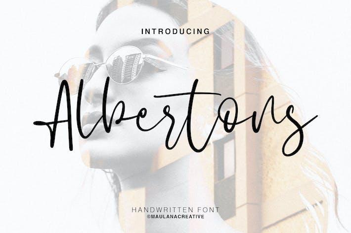 Thumbnail for Albertons Script