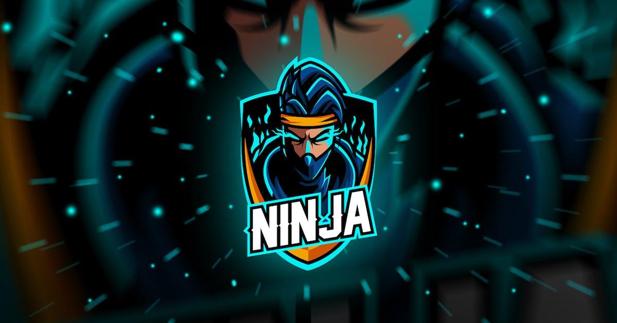 Download ninja - Mascot & Esport Logo by aqrstudio