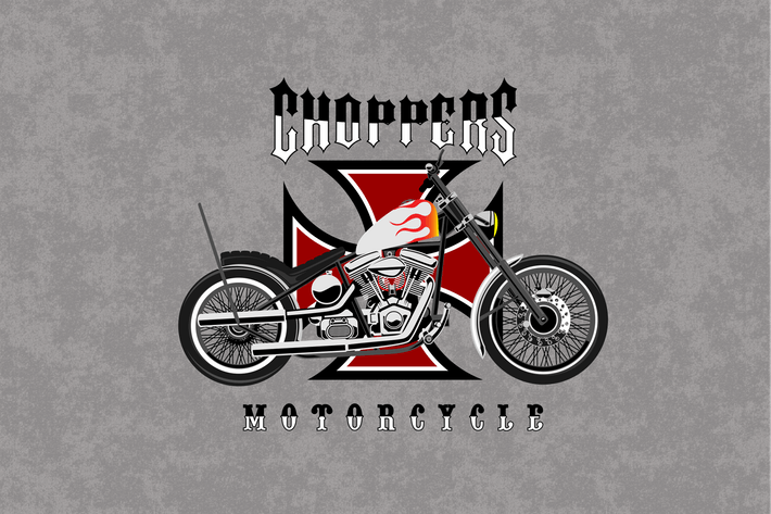 Thumbnail for Motorcycle - Vector Illustration