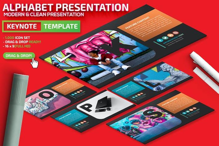 Thumbnail for Alphabet Powerpoint Presentation