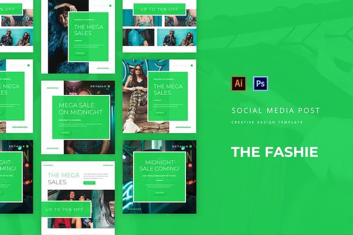 Thumbnail for Fashie Social Media Post