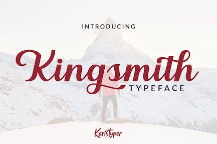 Kingsmith Script Font