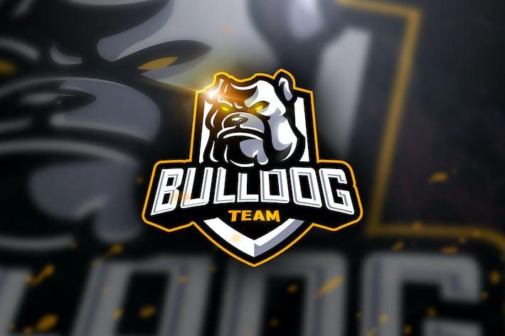 Cover Image For Bulldog Team- Mascot & Esport Logo