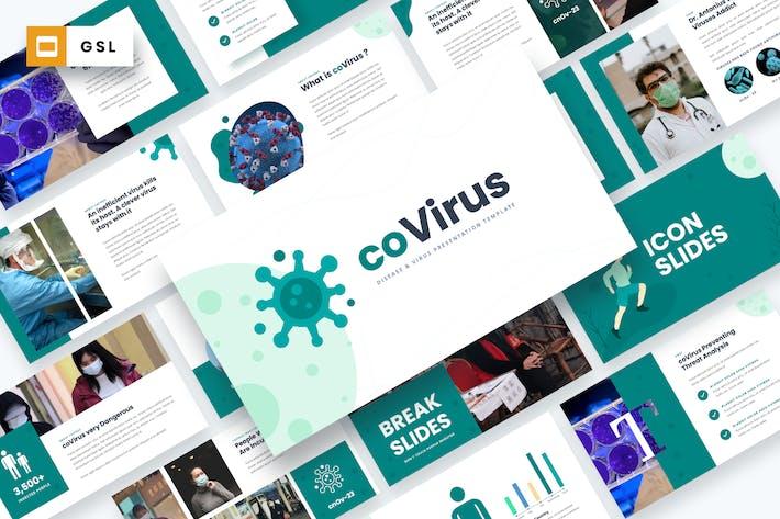 Thumbnail for Ковирус - Болезнь & ВиGoogle Шаблон