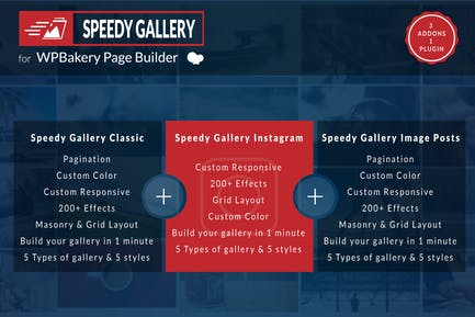 Speedy Gallery Addons for WPBakery Page Builder