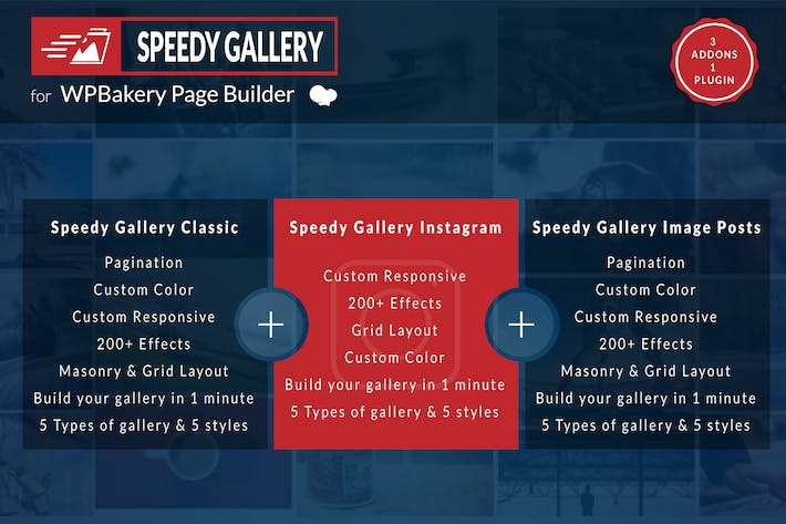 Thumbnail for Speedy Gallery Addons for WPBakery Page Builder