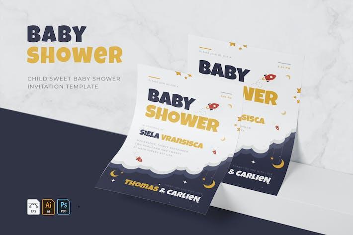 Thumbnail for Enfant Sweet   Invitation Baby Shower