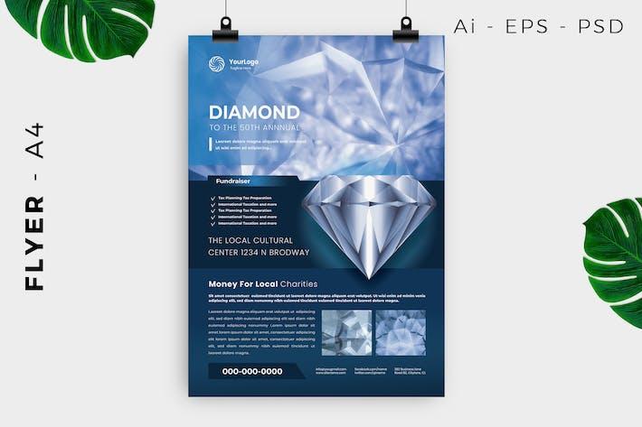 Thumbnail for Diamond / Jewelry Flyer Design