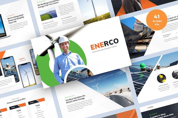 Thumbnail for Шаблон слайдов презентации возобновляемых источников энергии