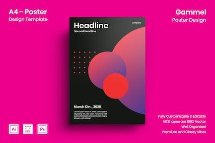 Gammel Poster Design