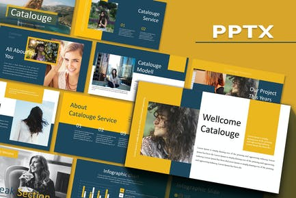 CATALOUGE - Powerpoint Template