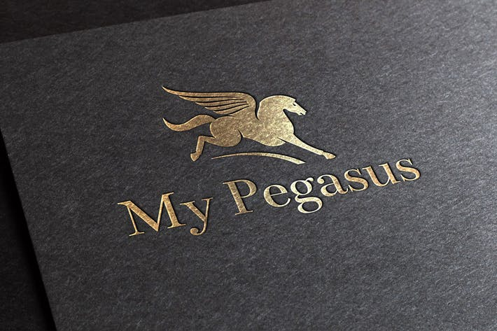 Thumbnail for Pegasus Logo Template