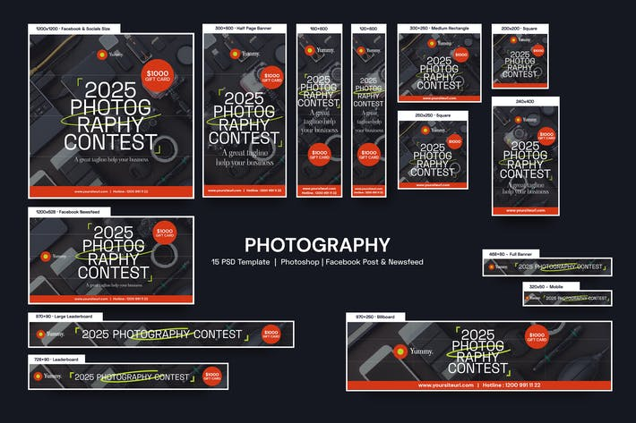 Thumbnail for Photography Banners Ad