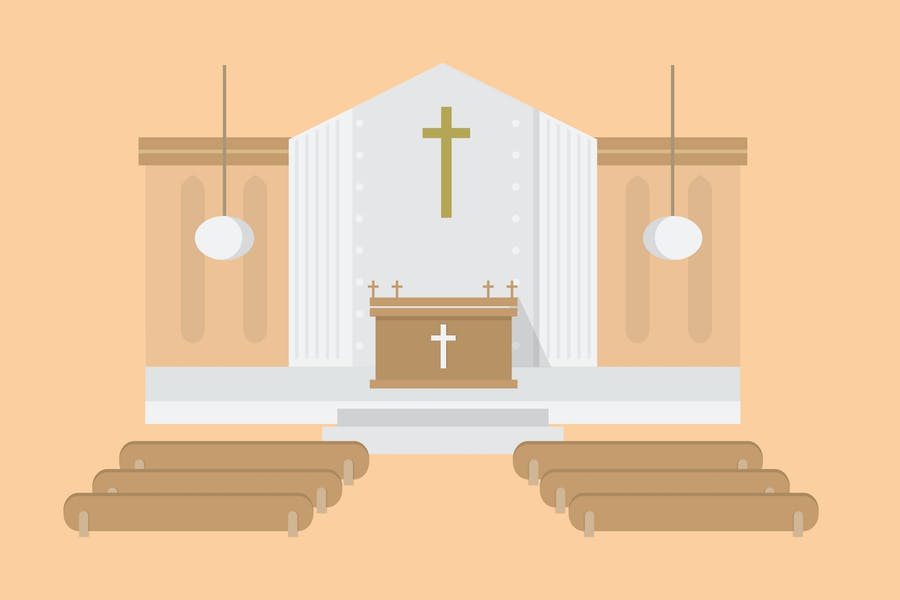 Church - Illustration Background