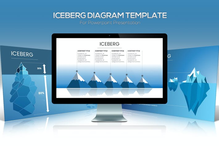 Thumbnail for Iceberg Diagram Powerpoint Template