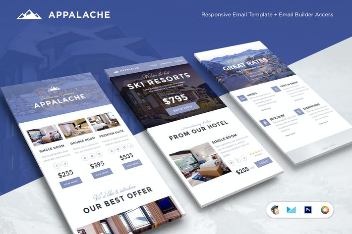 Thumbnail for Appalache Email Template