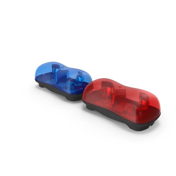 Мини EMS Полиция Световые Бары